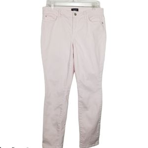 NYDJ Alina Convertible Ankle Pale Pink Jeans